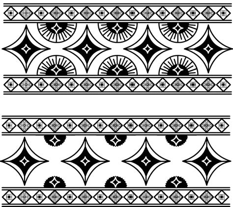 simple pattern border design simple indian designs and patterns www pixshark com
