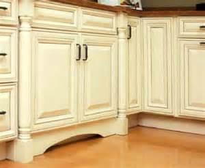 Charleston Kitchen Cabinets Charleston Cherry Saddle And Antique White Kitchen