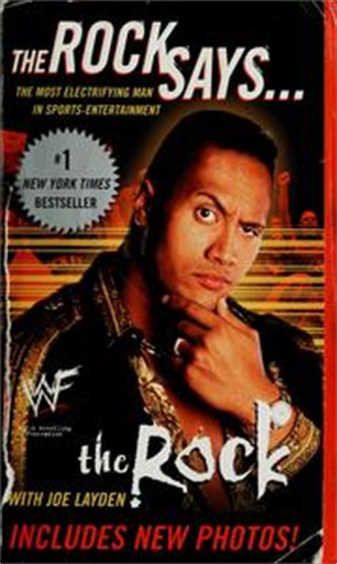 dwayne johnson books biography the rock says open library