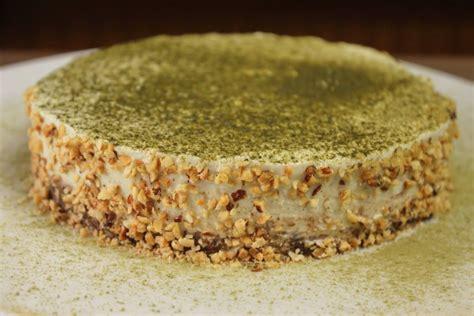 gesunder kuchen ohne zucker matcha cake no bake kuchen ohne zucker glutenfrei