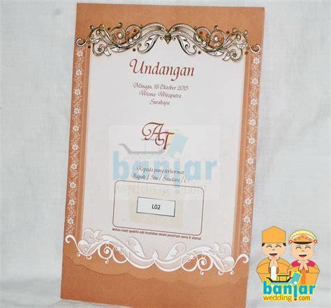 Undangan Pernikahan Murah Lintang 37 Undangan Pernikahan Murah Ub L02 Banjar Wedding Banjar