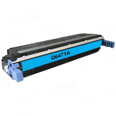 replacement hewlett packard hp 502a q6471a cyan laser