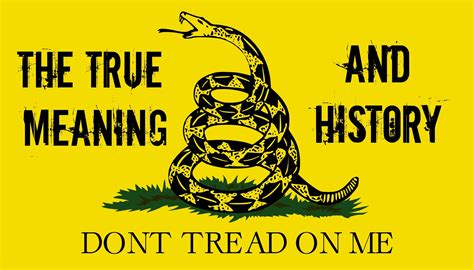 historic meaning gadsden flag true meaning and history youtube