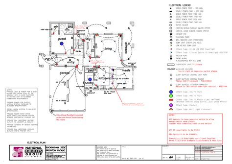 electrical floor plans nbg buckingham 320e eastern suburbs melbourne revised