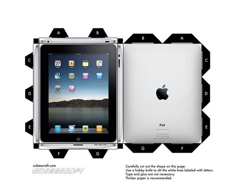 Cubeecraft Ipad By Cubeecraft On Deviantart Playmaker Pro Templates