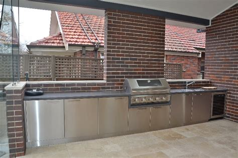 Sydney Outdoor Kitchens by Custom Made Outdoor Bbq Kitchens Sydney