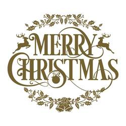 Lettering Stickers For Walls vinyl christmas text merry christmas