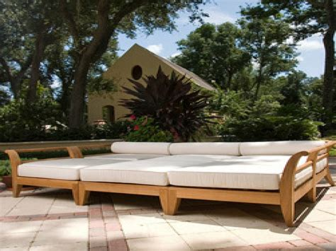 Out Door Patio Mediterranean Outdoor Furniture Teak Daybed Outdoor Furniture Balinese Outdoor Daybed