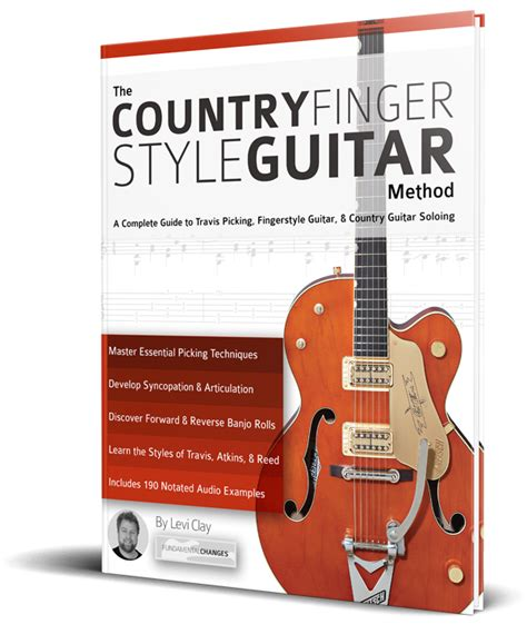 country guitar soloing techniques learn country hybrid picking banjo rolls licks techniques books the country fingerstyle guitar method fundamental