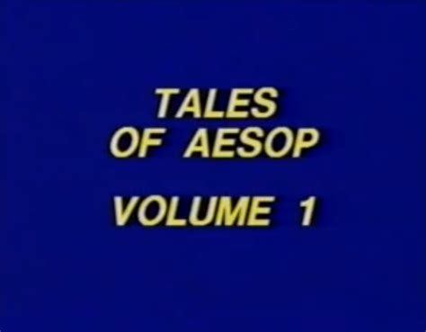 the kishi tales from esowon volume 1 books image tales of aesop volume 1 company bumpers wiki