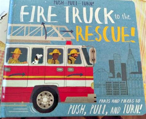 push pull turn truck to the rescue books silver dolphin will let you push pull turn slide and peep