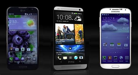 top ten android phones 10 best 2013 android phones