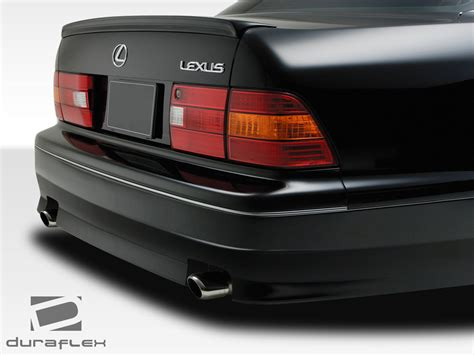 lexus rear bumper 1995 1997 lexus ls series ls400 duraflex vip rear bumper