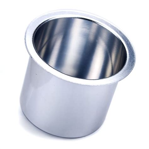 aluminum cup holders for boat single vivid silver aluminum drop in cup holder