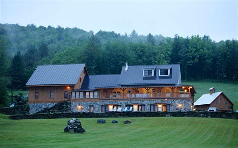 Big Farmhouse by Exclusive Venues Vermont Farms Catering
