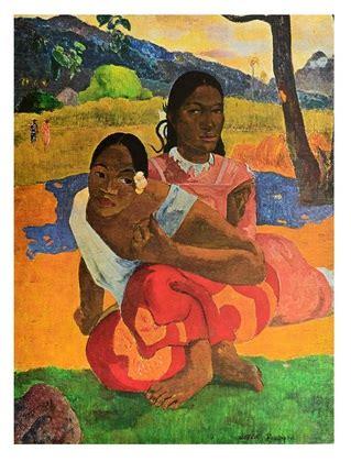paul wann paul gauguin wann heiratest du poster kunstdruck bei