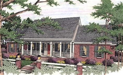 Exceptional One Story Southern House Plans 7 2 Story 2 Story Southern Home Plans