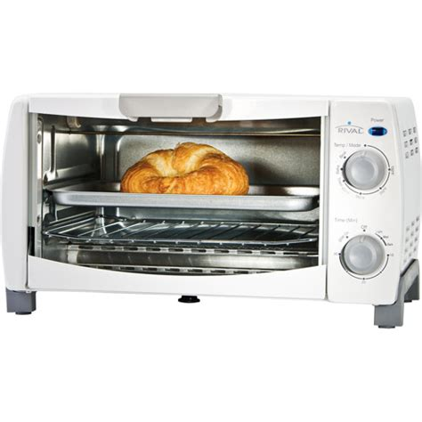 Four Slice Toaster Oven rival 4 slice toaster oven white brand new best price ebay