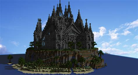 Blueprint Designs castle island minecraft project