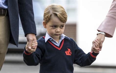 george empieza el cole 8448837843 la duquesa de cambridge la gran ausente en el primer d 237 a de colegio del pr 237 ncipe george foto 3