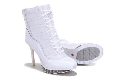 nike high heeled sneakers nike air 11 high heel sneakers white nike high heels