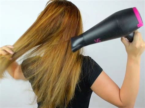 Hair Dryer Hair Damage how to hair 7 steps with pictures wikihow