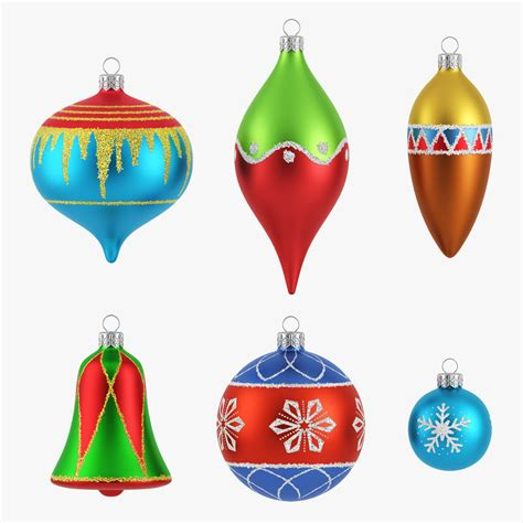 3d christmas ornament model