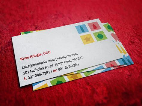 chrismas business card template santa claus business card business card