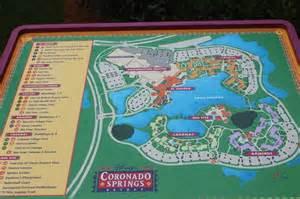 map picture of disney s coronado springs resort orlando