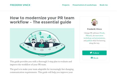 pr workflow guest posts and mentions guthrie
