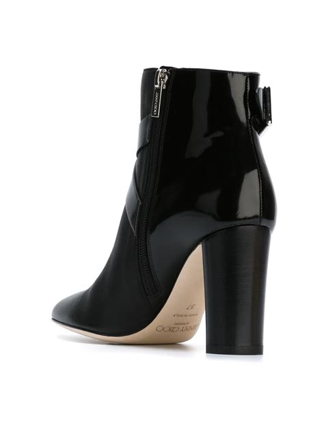 jimmy choo boots jimmy choo ankle boots in black lyst