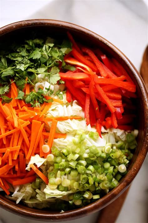 napa salad napa cabbage salad with sweet tamari sesame dressing