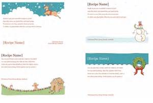 card maker template recipe cards maker templates for word 2013