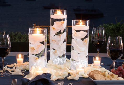 complete centerpiece kit w vases flowers lights rocks