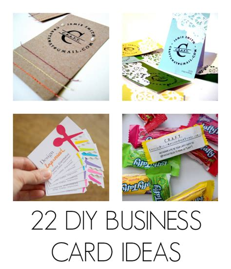 free craft business card templates diy business cards c r a f t