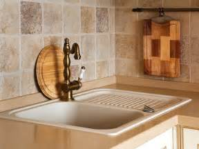 tile backsplash ideas for kitchen travertine tile backsplash ideas hgtv
