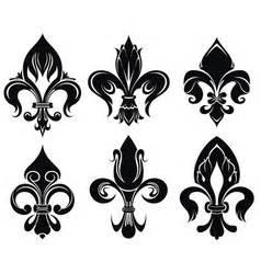 Setelan Kulot Royal Loly Black fleur de lis simple black silhouette logo vector image