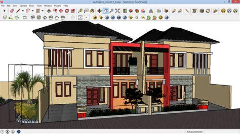tutorial google sketchup desain rumah 67 cara membuat desain rumah sketchup belajar