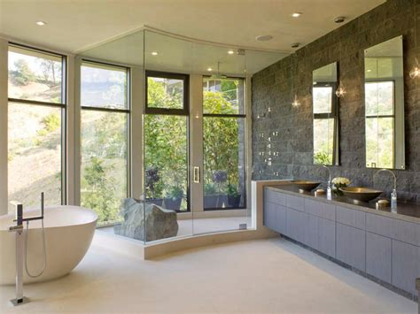 Modern Master Bathroom Master Bathroom Layouts Hgtv