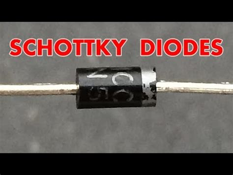 how does a schottky diode work what is a schottky diode yourepeat