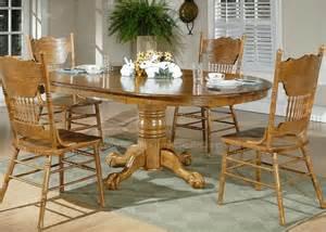 Nostalgia oval pedestal dining table dining room furniture set by