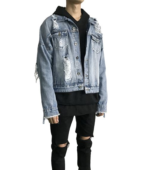 jean jacket design ideas destroyed denim jacket tutt designs