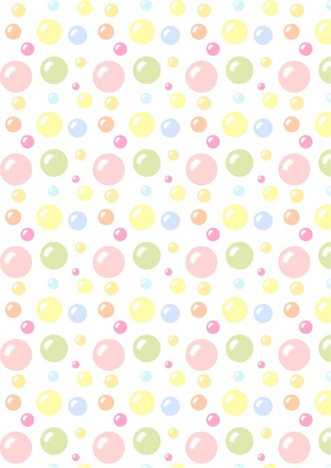 Paper For Pattern - free digital bubbles scrapbooking paper ausdruckbares
