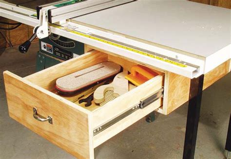 best woodworking table saw aw extras 4 3 14 tablesaw tool drawer popular