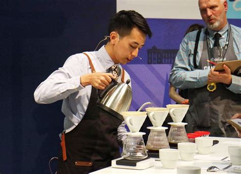 barista represents starbucks at world brewers