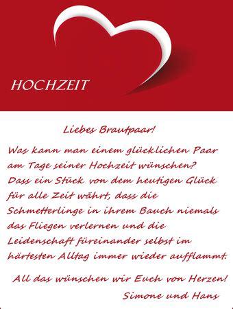 Hochzeitskarte Text by Vorlagen F 252 R Gl 252 Ckw 252 Nsche In Der Hochzeitskarte
