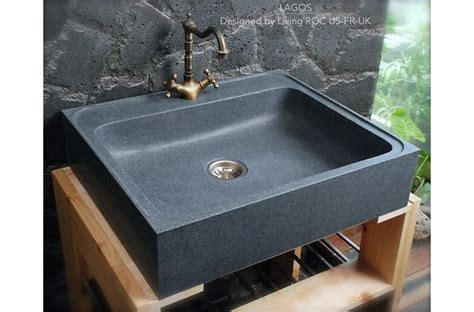 700x600 grey granite kitchen sink lagos