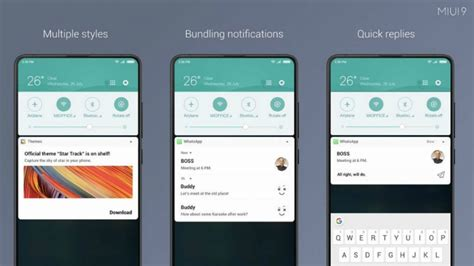 miui theme policy bypass xiaomi releases miui 9 5 update notification shade and