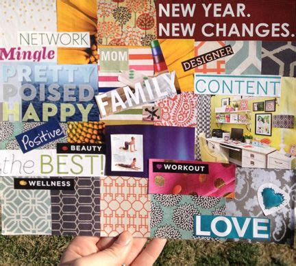 new year collage ideas diy new year new boards collage vision board