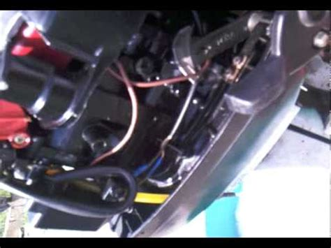 boat engine sputtering at full throttle 7 5hp mercury boat engine full throttle youtube